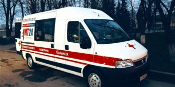 Транспортировка больного по Москве и области